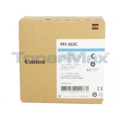 CANON IPF820 PFI-303C INK TANK CYAN 330ML
